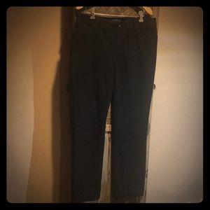 Ralph Lauren black jeans size 10